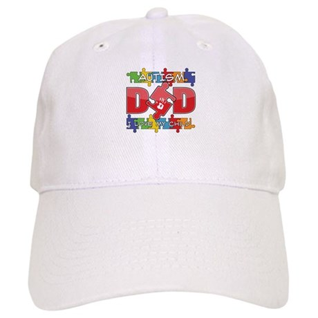Autism Dad I Love My Child Cap