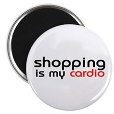 Shopping Cardio Magnet
