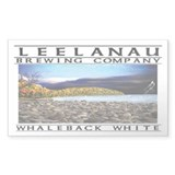 Whaleback White Rectangle Decal