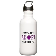 Save A Life Sports Water Bottle