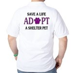 Save A Life Golf Shirt