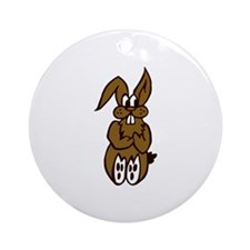 Rabbit - Bunny Ornament (Round)