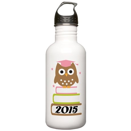 2015 Top Graduation Gifts Stainless Water Bottle 1