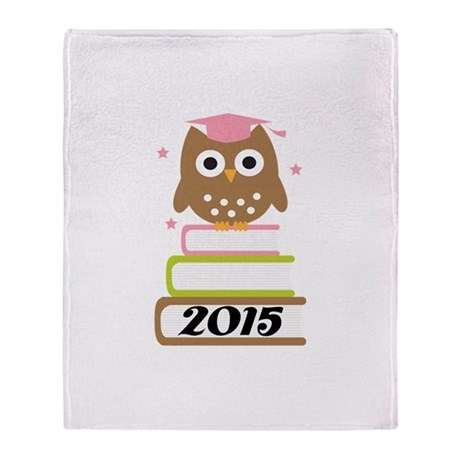 2015 Top Graduation Gifts Throw Blanket