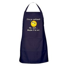 I'm So Confused... Apron (dark)
