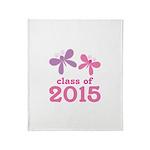 2015 Girls Graduation Throw Blanket