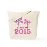 2015 Girls Graduation Tote Bag