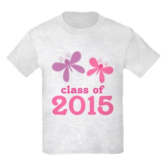 2015 Girls Graduation Kids Light T-Shirt