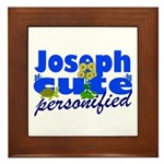 Cute Joseph Framed Tile