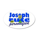 Cute Joseph 22x14 Oval Wall Peel