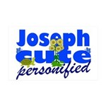 Cute Joseph 38.5 x 24.5 Wall Peel
