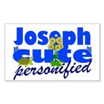 Cute Joseph Sticker (Rectangle)