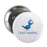 """Just Tweeted"" 2.25"" Button (10 pack)"