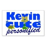 Cute Kevin Sticker (Rectangle 10 pk)