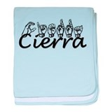 Cierra baby blanket
