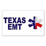 Texas EMT Rectangle Decal