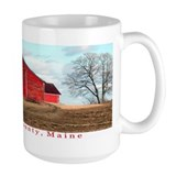 Bridgewater barn mud season Mug