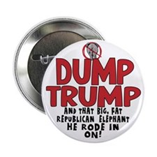 "Dump Trump 2012 2.25"" Button"