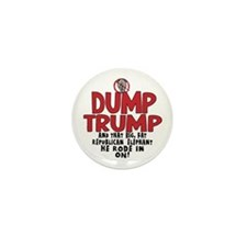 Dump Trump 2012 Mini Button (10 pack)