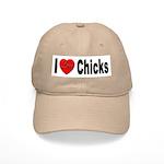 I Love Chicks Cap