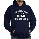 Proud Girlfriend of a US Airman Hoody