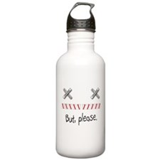 Railroad Crossing Water Bottle