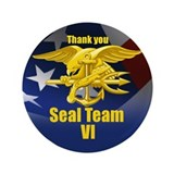 Seal Team VI 3.5&amp;quot; Button