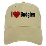 I Love Budgies Cap