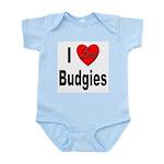 I Love Budgies Infant Creeper