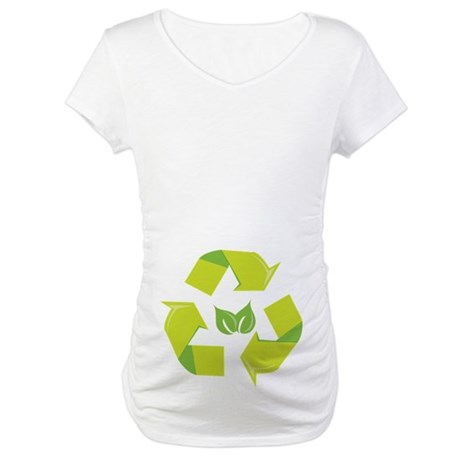 Recycle Environment Maternity T-Shirt