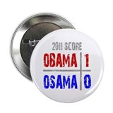 "Obama 1 Osama 0 2.25"" Button"