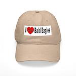 I Love Bald Eagles Cap