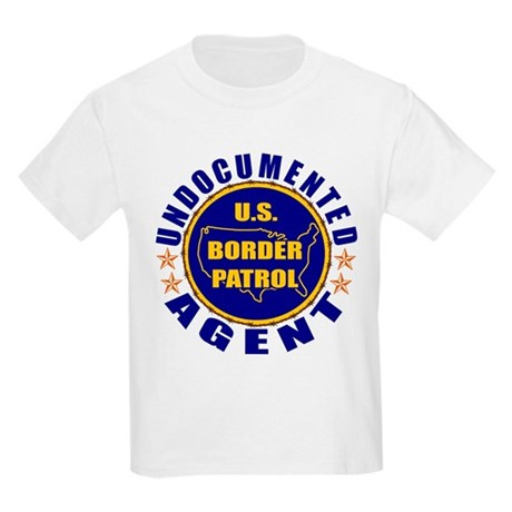 Undocumented Border Patrol Agent Kids T-Shirt