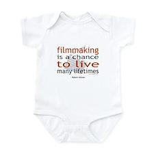"""Filmmaking is ..."" Infant Creeper"