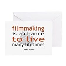 """Filmmaking is ..."" Greeting Cards (Pk of 10)"