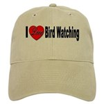 I Love Bird Watching Cap