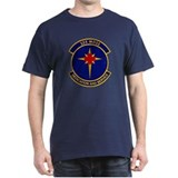 325th Medical Support Black T-Shirt