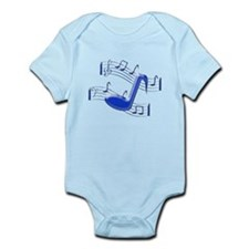 Musical Note Infant Bodysuit