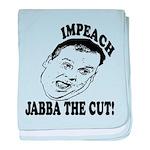 Impeach Christie baby blanket