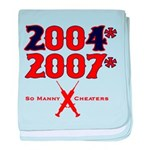 Manny Cheated baby blanket