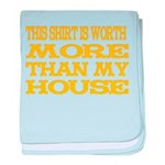 Shirt > House baby blanket
