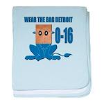 Wear The Bag Detroit baby blanket