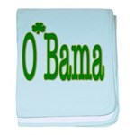 Irish For O'Bama baby blanket