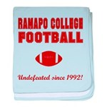 Ramapo Football baby blanket