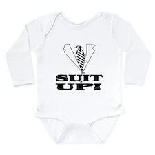 Suit Up! Long Sleeve Infant Bodysuit