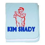The Real Kim Shady baby blanket