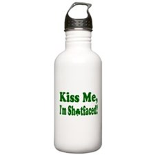 Kiss Me, I'm Shitfaced! Water Bottle