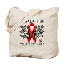 I Walk For Ornate Tote Bag