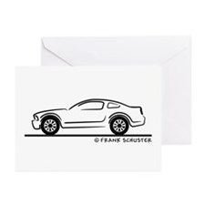 New Ford Mustang Fastback Greeting Cards (Pk of 10