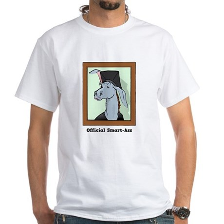 Official Smart Ass White T-Shirt